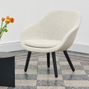 About A Lounge 82 - AAL82_Black Solid Oak