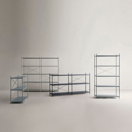 Punctual Shelving System- One Vertical Module