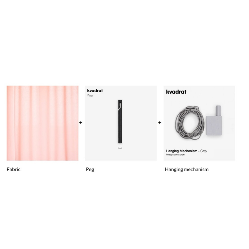 Ready Made Curtain-Composizione 2
