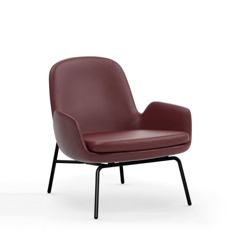 Era Lounge Chair Low Steel