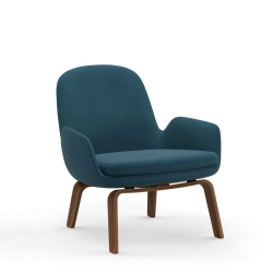 Era Lounge Chair Low Walnut