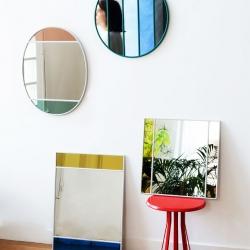 Specchio Vitrail - 50 x 60cm - Oval