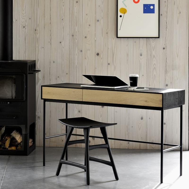 Blackbird scrivania - 2 cassetti