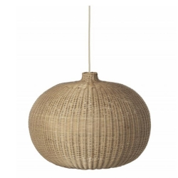Braided Belly Lampshade