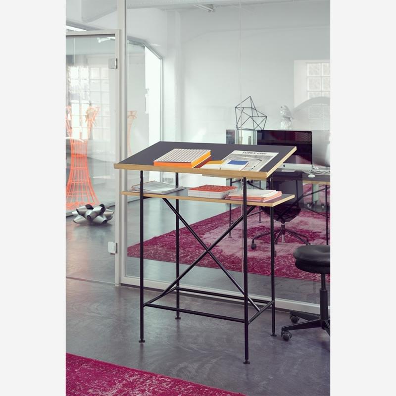 Milla 700 high desk_Chrome Legs