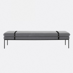 Turn Daybed_Black Leather