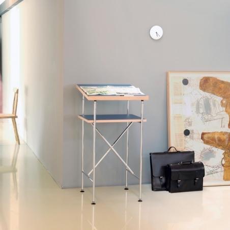 Milla 500 high desk_Chrome Legs