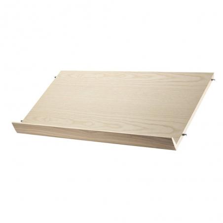 Magazine shelf wood P. 30 cm