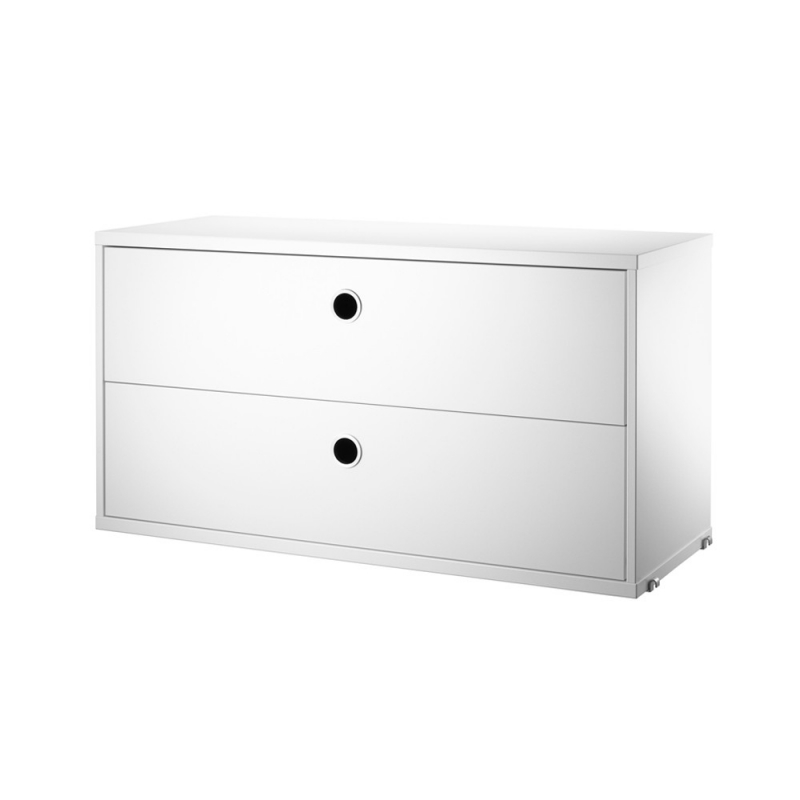 String Chest with Drawers