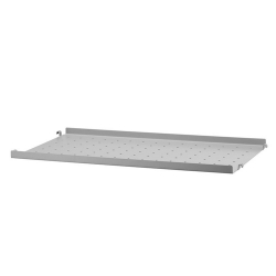 Metal Shelf with Low Edge