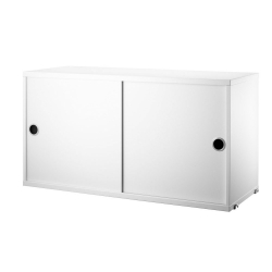 Cabinet with Sliding Doors