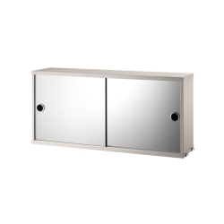 Cabinet with Mirror Doors L. 78 x P. 20 cm