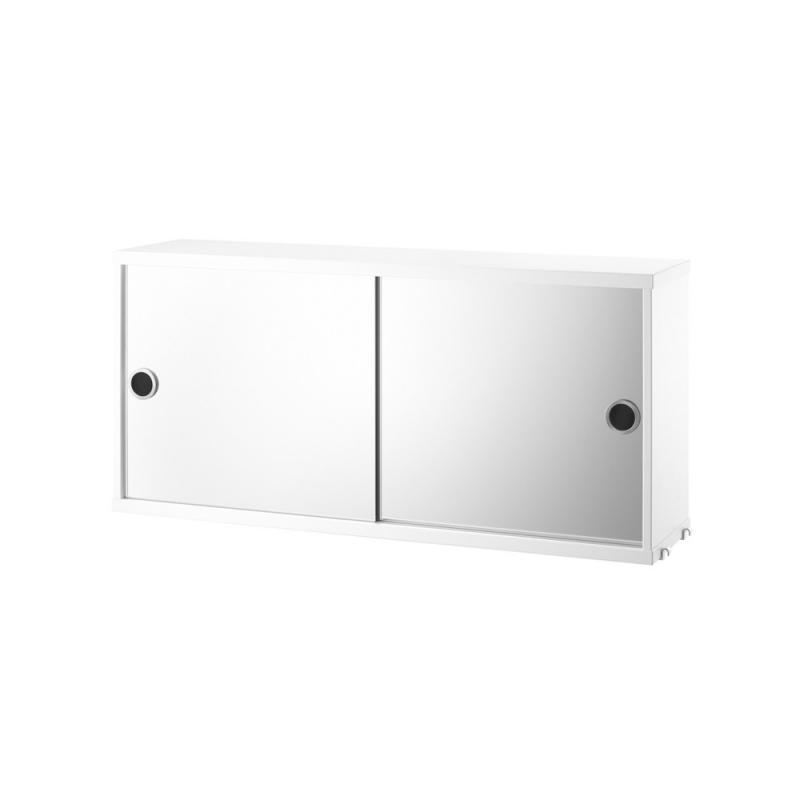 Cabinet with Mirror Doors L. 78 x P. 20 cm