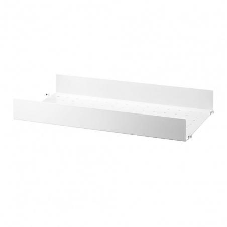 Metal Shelf with High Edge