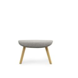 Hyg Footstool Oak