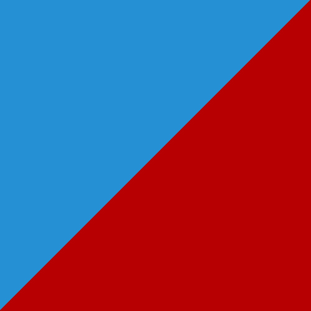 Red - Blue