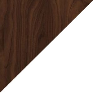 Walnut/White