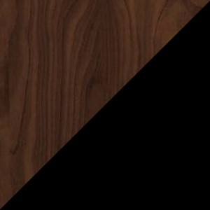 Walnut/Black